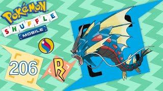 Pokémon Shuffle Mobile - ¡MEGA GYARADOS! Gyaradosita! SHINY TAMBIÉN!!