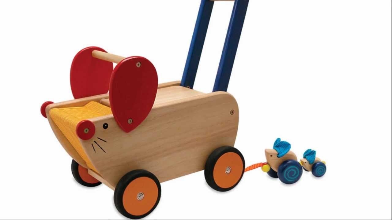 Lauflernwagen Holz Spiele Max
