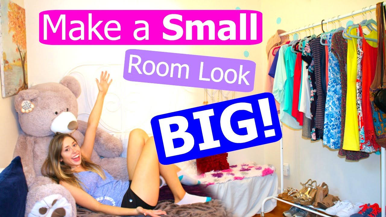 10 TIPS  Lifehacks to Make Your Room Look Bigger  YouTube