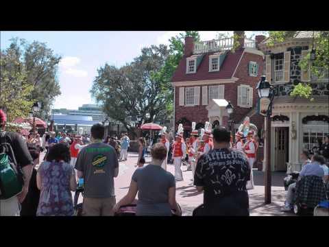 Liberty Square (Magic Kingdom) Sights & Sounds II (HD 1080p)