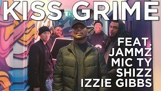 Jammz, Mic Ty, Shizz & Izzie Gibbs Freestyle + Chat | KISS Grime with Rude Kid