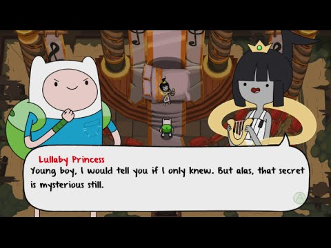 Adventure Time: The Secret of the Nameless Kingdom Walkthrough Part 2 - The Song Temple