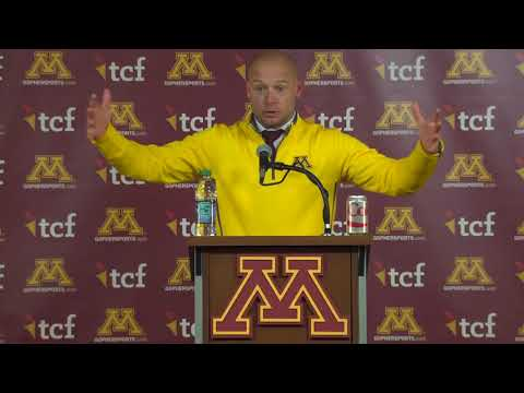Press Conference: Coach Fleck on Loss to Wisconsin