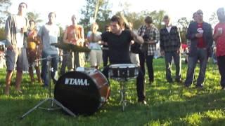 DRUM BATTLE: Twenty One Pilots - Groove Street Fest 2011 - 9.24.2011