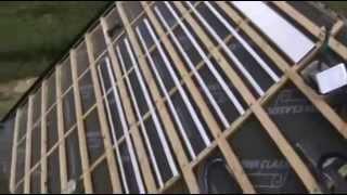 Niewidoczny powietrzny kolektor słoneczny (invisible solar collector) skrót