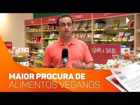Cresce a procura de alimentos veganos - TV SOROCABA/SBT