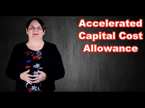 Accelerated Capital Cost Allowance 2019 (Canada)