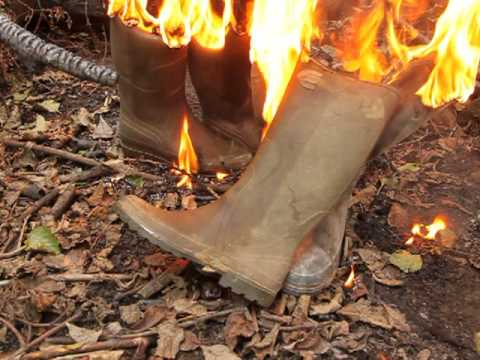 Burning Wellies Aigle, Le Chameau And Cebo