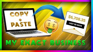 Copy & Paste my $6000 a Month Affiliate Marketing System