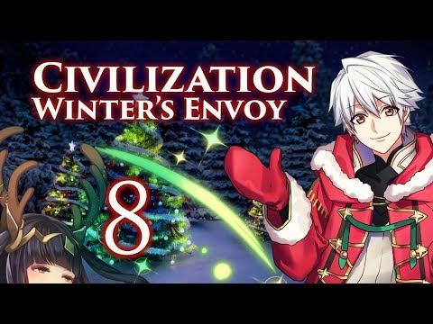 "Final Part: Let's Play Civilization 5, Fire Emblem Mod, Winter Festival Robin - ""Holy Shitsmas"""
