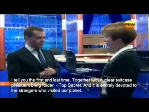 Russian Prime Minister claims extraterrestrials live among us HD 2012