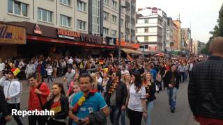 Hamburg -Public Viewing- Deutschland-Portugal 16.06.2014