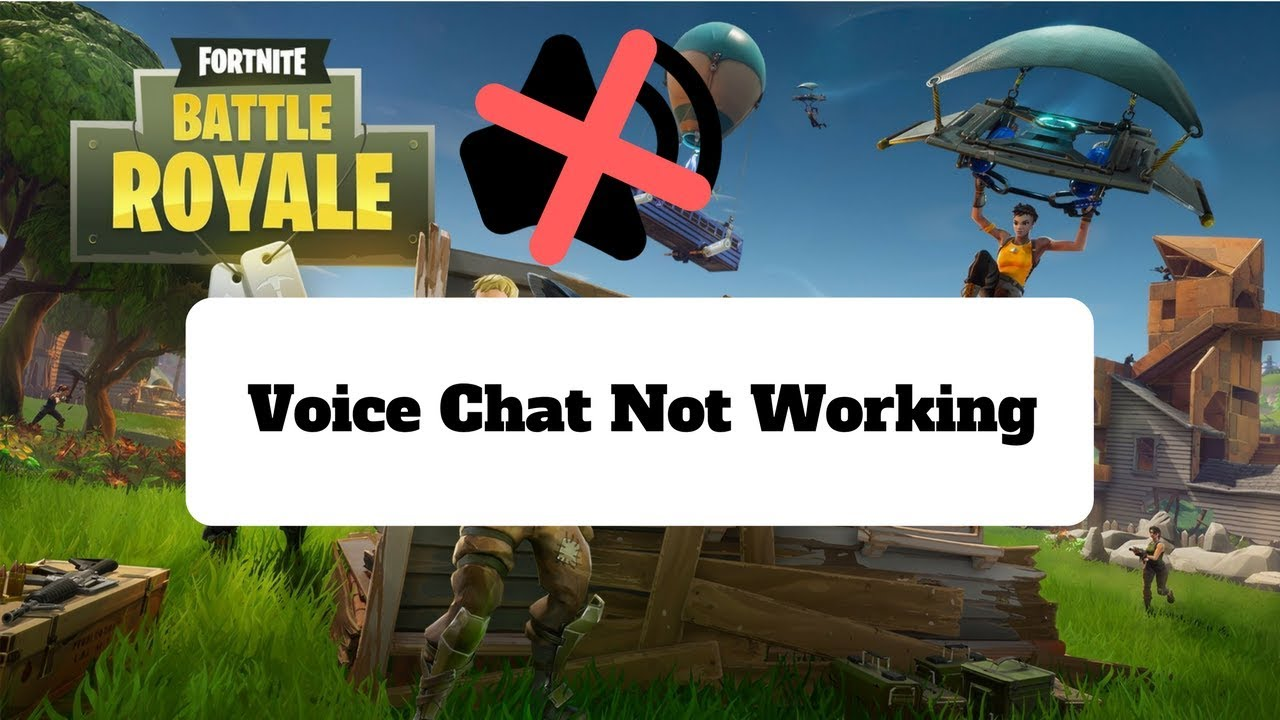 How To Fix Fortnite Voice Chat (Can't Hear Teammates)
