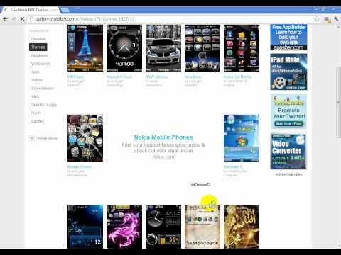 Comment telecharger themes,ringtones,apps mobile