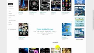 Comment telecharger themes,ringtones,apps mobile