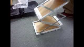 Top Brand Display Stand - Acrylic Brochure Stand Installation Method