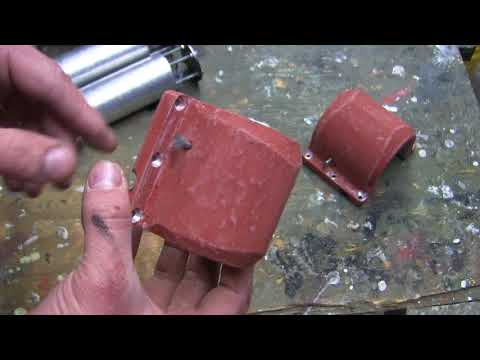 RC 1/6th scale Armortek Early Production Tiger video #7 (smoke system and rear hull details)