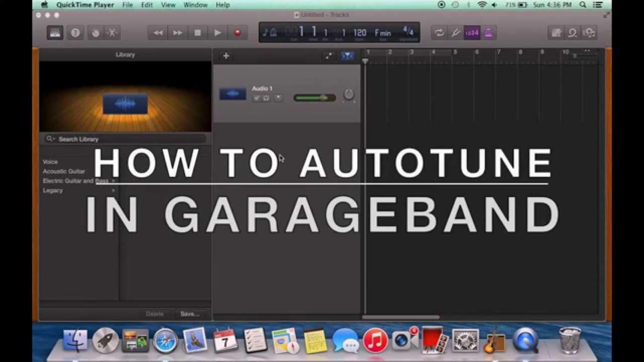 Antares Autotune GarageBand