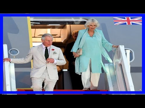 Breaking News | Prince charles, camilla depart for kuching