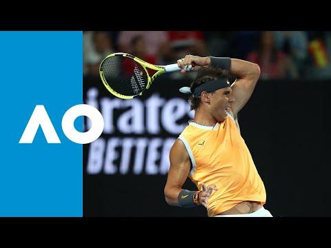 Frances Tiafoe v Rafael Nadal second set highlights (QF) | Australian Open 2019