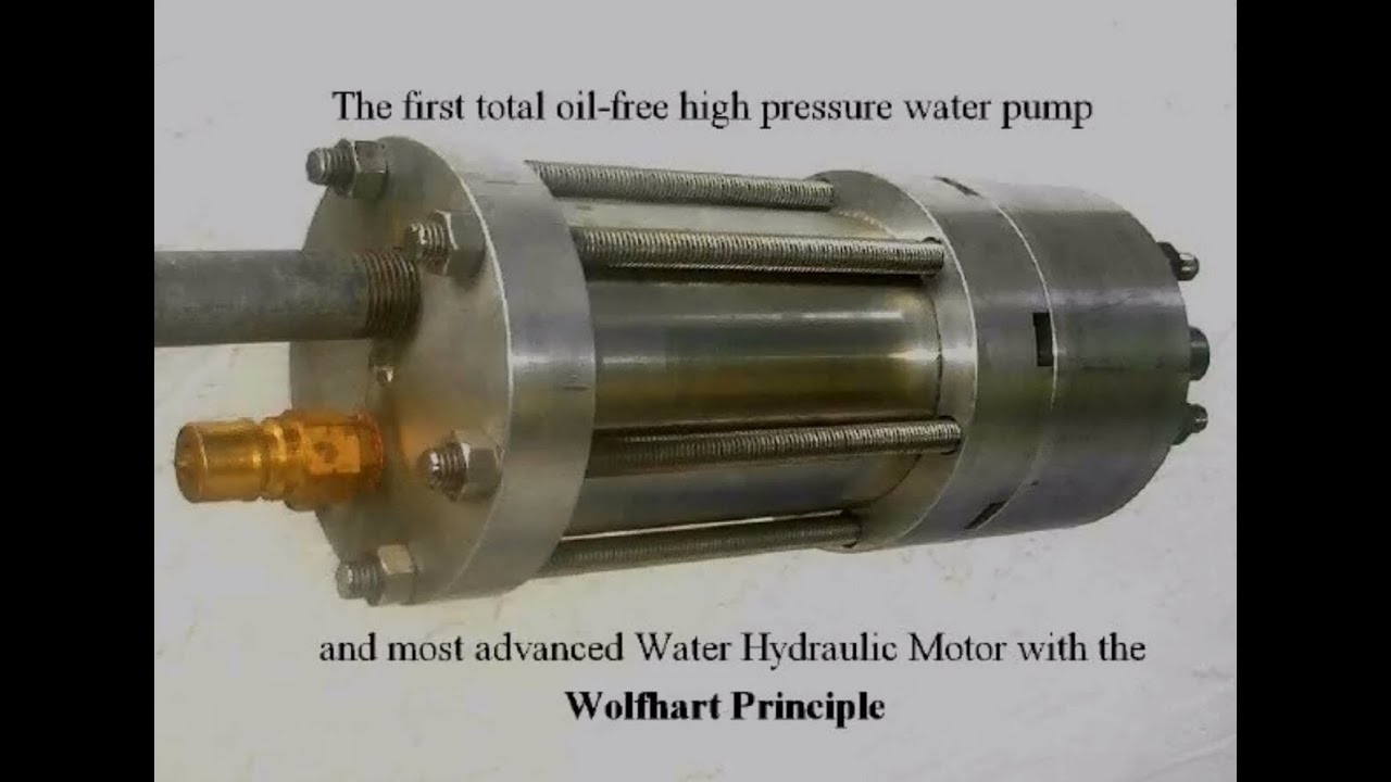 The Most Advanced Water Hydraulic Motor Youtube