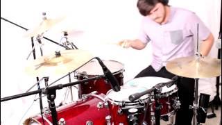 Dance Gavin Dance Shark Dad Drum Cover (Austin Armstrong of Illustrator)
