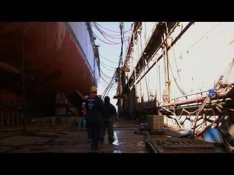 Ship Repair Anchored In Safety