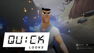 Samurai Jack: Battle Through Time: Quick Look (Video Game Video Review)