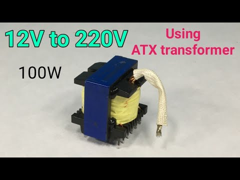 Easy Inverter | DC To AC Inverter Using ATX Transformer | LCSC ELECTRONICS