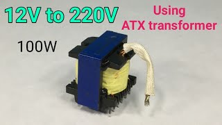 Easy inverter | DC to AC inverter using ATX transformer | LCSC ELECTRONICS