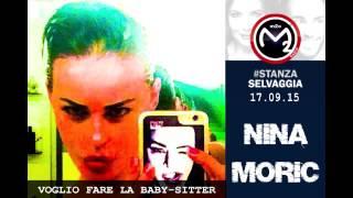 Nina Moric @ m2o radio - Stanza Selvaggia 17.09.15