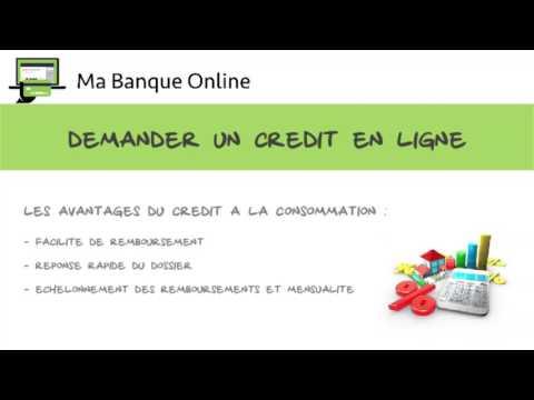 demander un credit en ligne Ma Banque Online