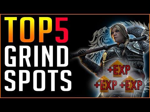 TOP 5 Grind Spots in The Elder Scrolls Online - Level 1-50 in 5 Hours