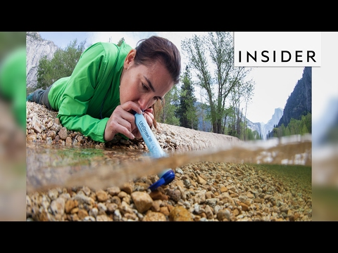 LifeStraw lets you drink out of rivers and streams