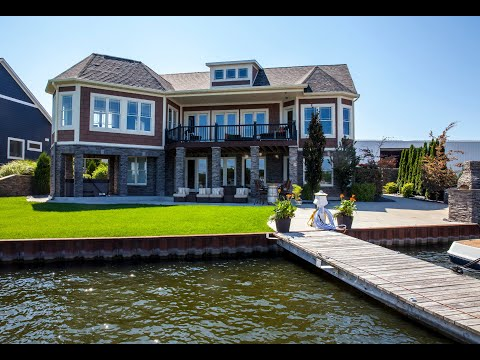 High End Homes: Spring Lake $1.9 million-dollar lakefront home