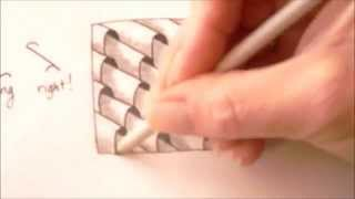How to draw tanglepattern Planateen
