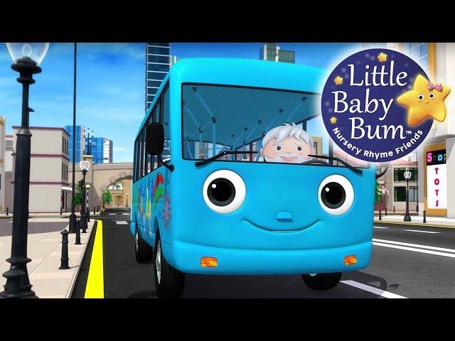 Wheels On The Bus | Part 15 | Nursery Rhymes | Original Version By LittleBabyBum!