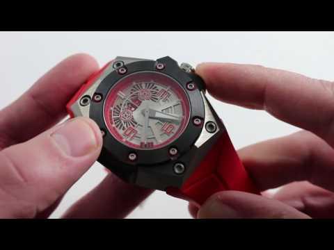 Linde Werdelin Oktopus II Titanium Red Luxury Watch Review