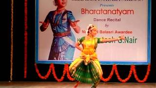 Santosh G nair Bharathanatyam At Ravindra Bharathi on 13-06-2012 part1