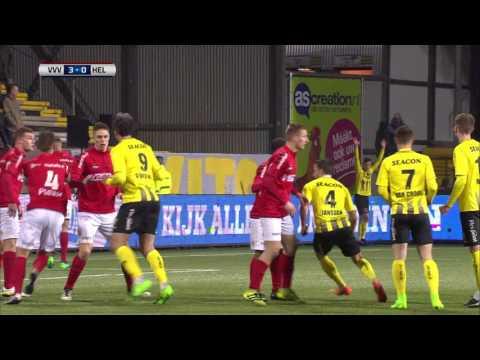Samenvatting van de wedstrijd VVV Venlo - Helmond Sport