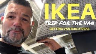 IKEA TRIP FOR THE VAN | Getting Van Build Ideas