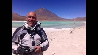 dia 3  SP de Atacama- Geiser /  Motorcycle Travel Through South America (GoPro