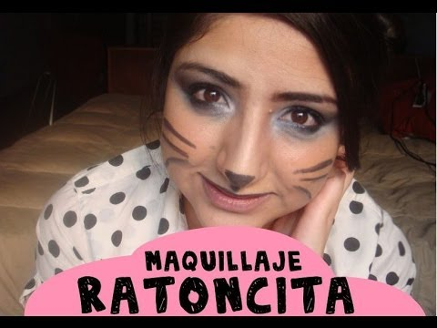 Maquillaje Ratona - - YouTube