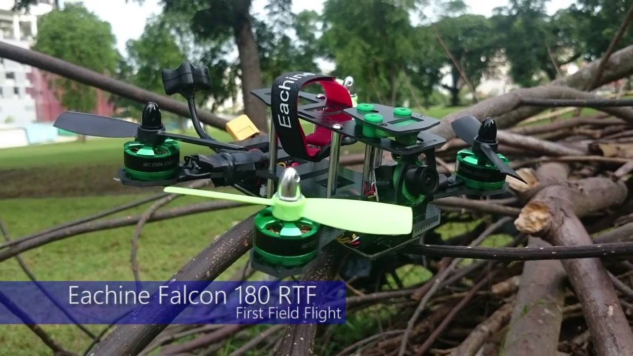 Eachine Falcon 180 First Field Flight