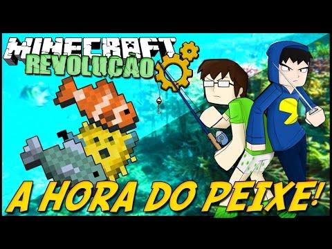 Minecraft: A REVOLUÇÃO - HORA DO PEIXE! #24