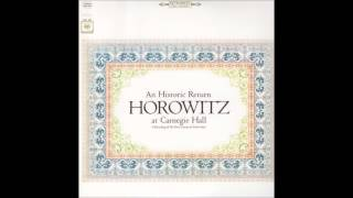 "Vladimir Horowitz ""An Historical Return"" at Carnegie Hall - 1965"