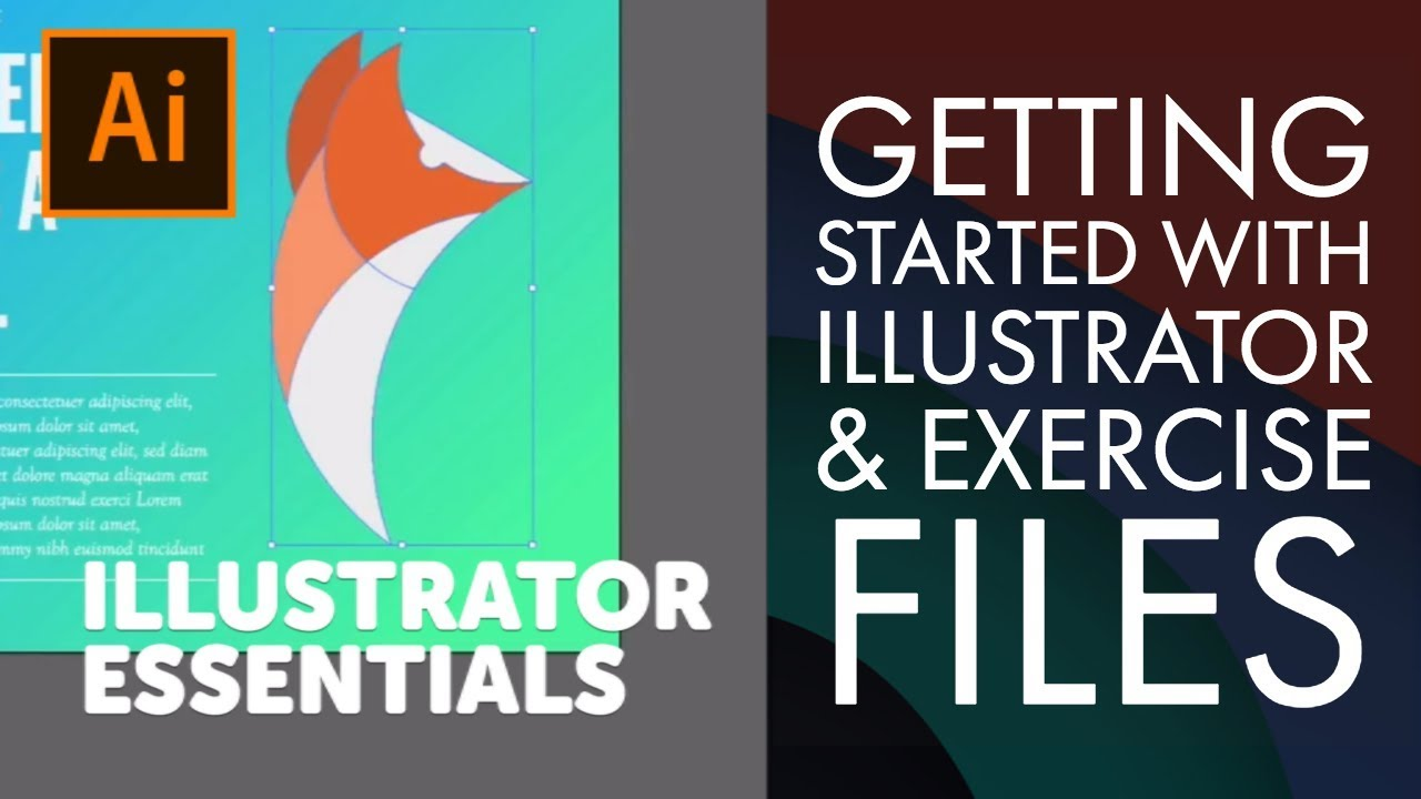 Getting Started with Illustrator & Exercise Files - Adobe Illustrator CC 2018 [2-3/39]