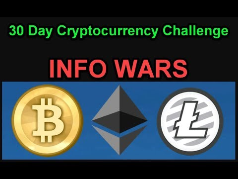 Information Wars - 30 Day Cryptocurrency Challenge - Join Us! Day 3