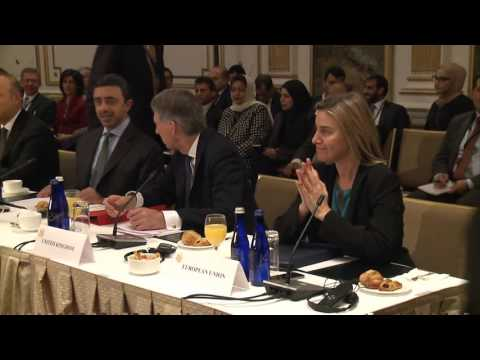 Mogherini at the UN talks on ISIS and Syria