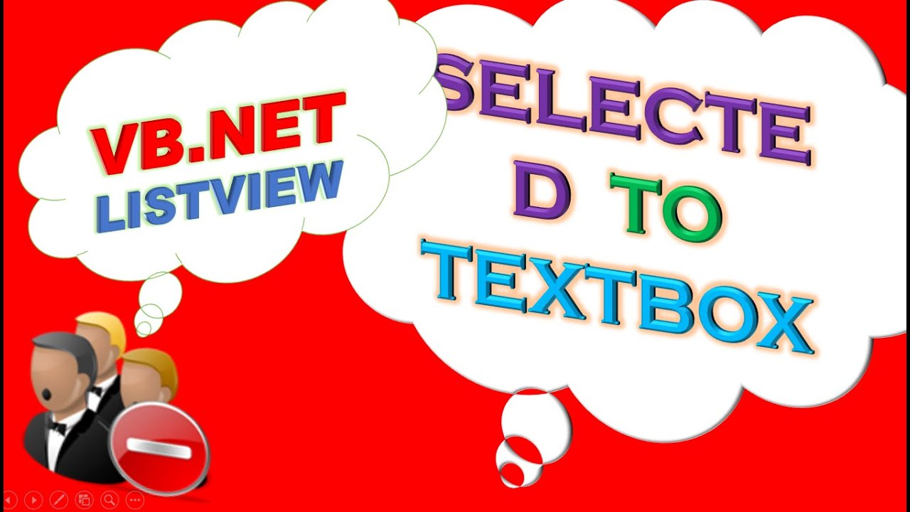 VB NET ListView Ep 03 - Set Selected Items In TextBoxes